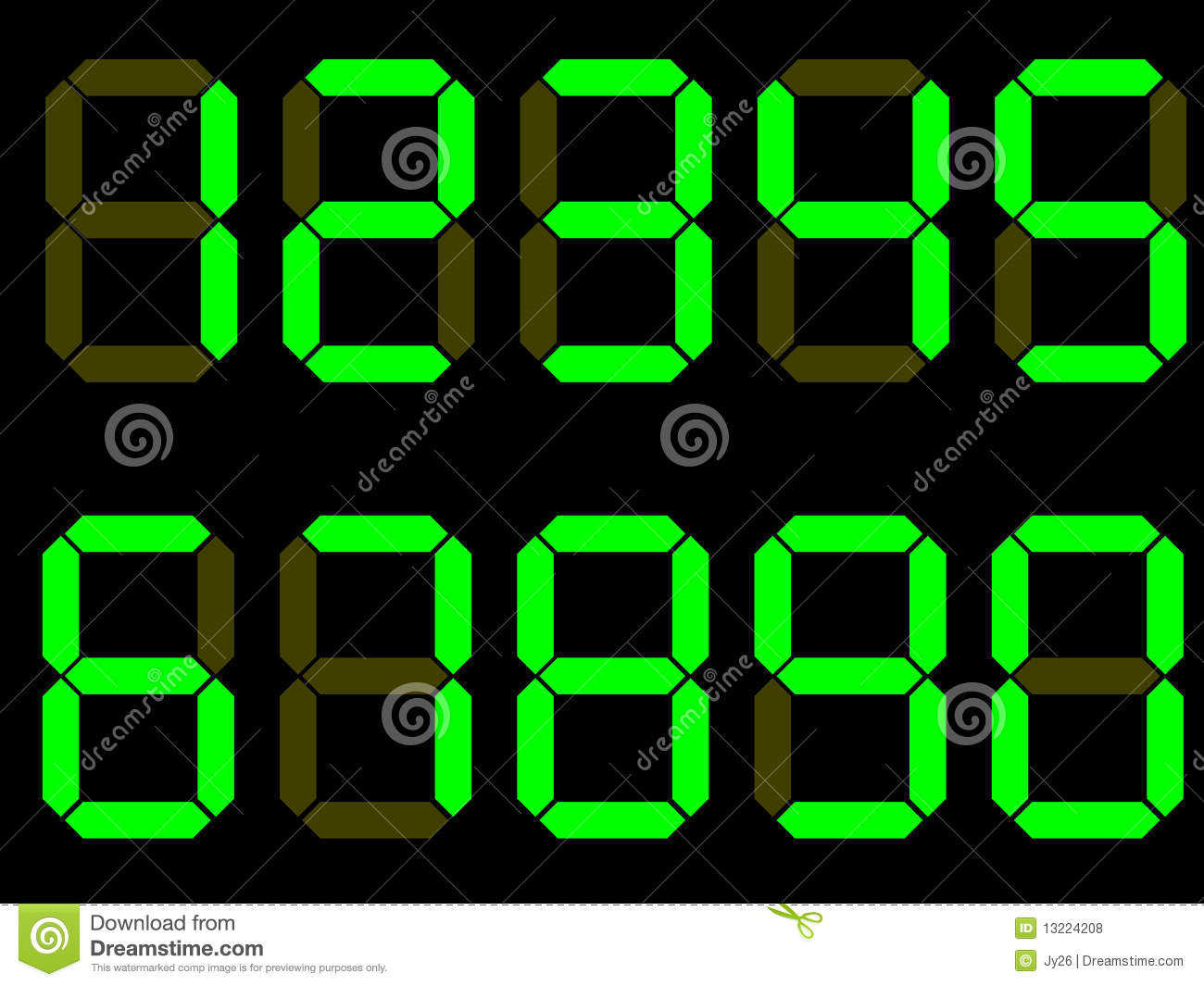 vector digit numbers royalty free stock photos image free congratulations clipart for children free congratulations clipart images