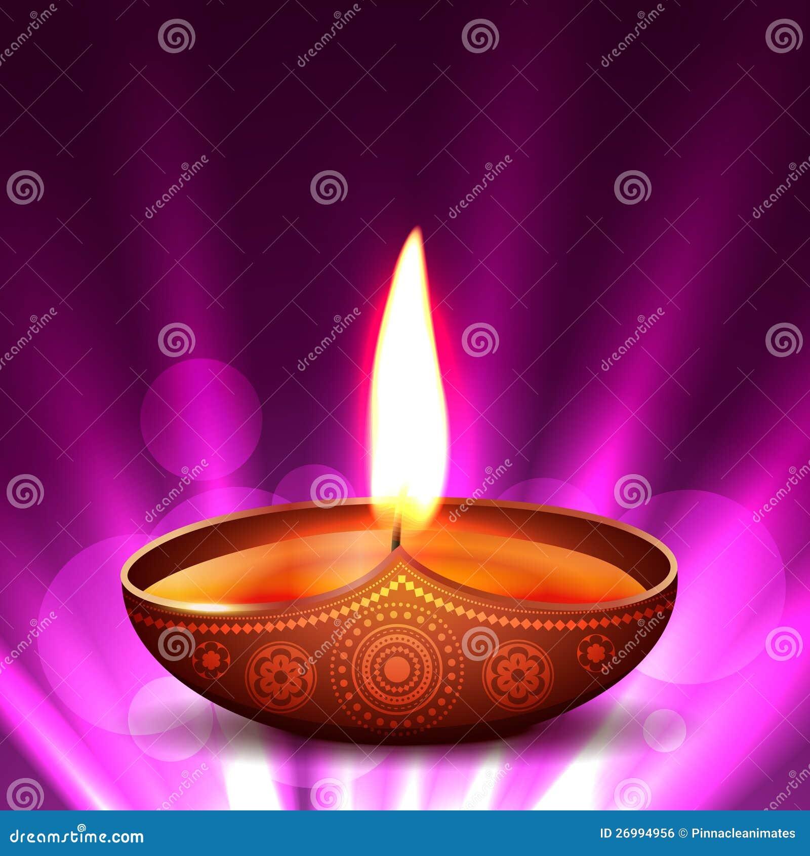 Vector Diwali Diya Royalty Free Stock Image - Image: 26994956