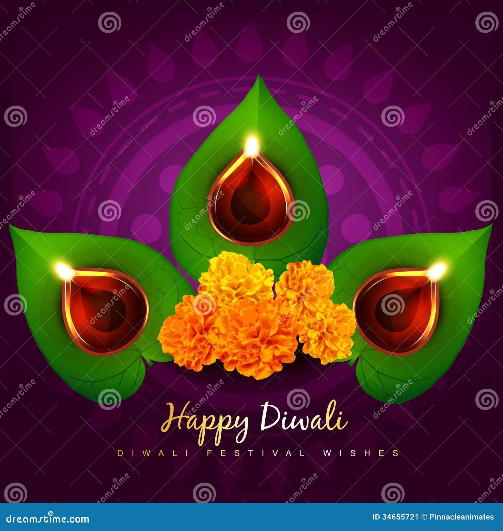 Vector diwali diya stock vector. Illustration of element - 34655721 for diwali diya wallpaper vector  45hul