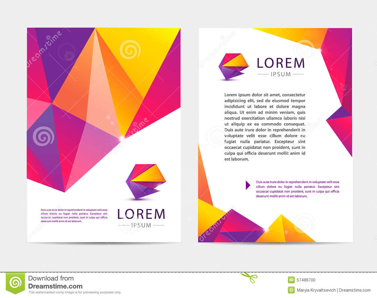 document cover template