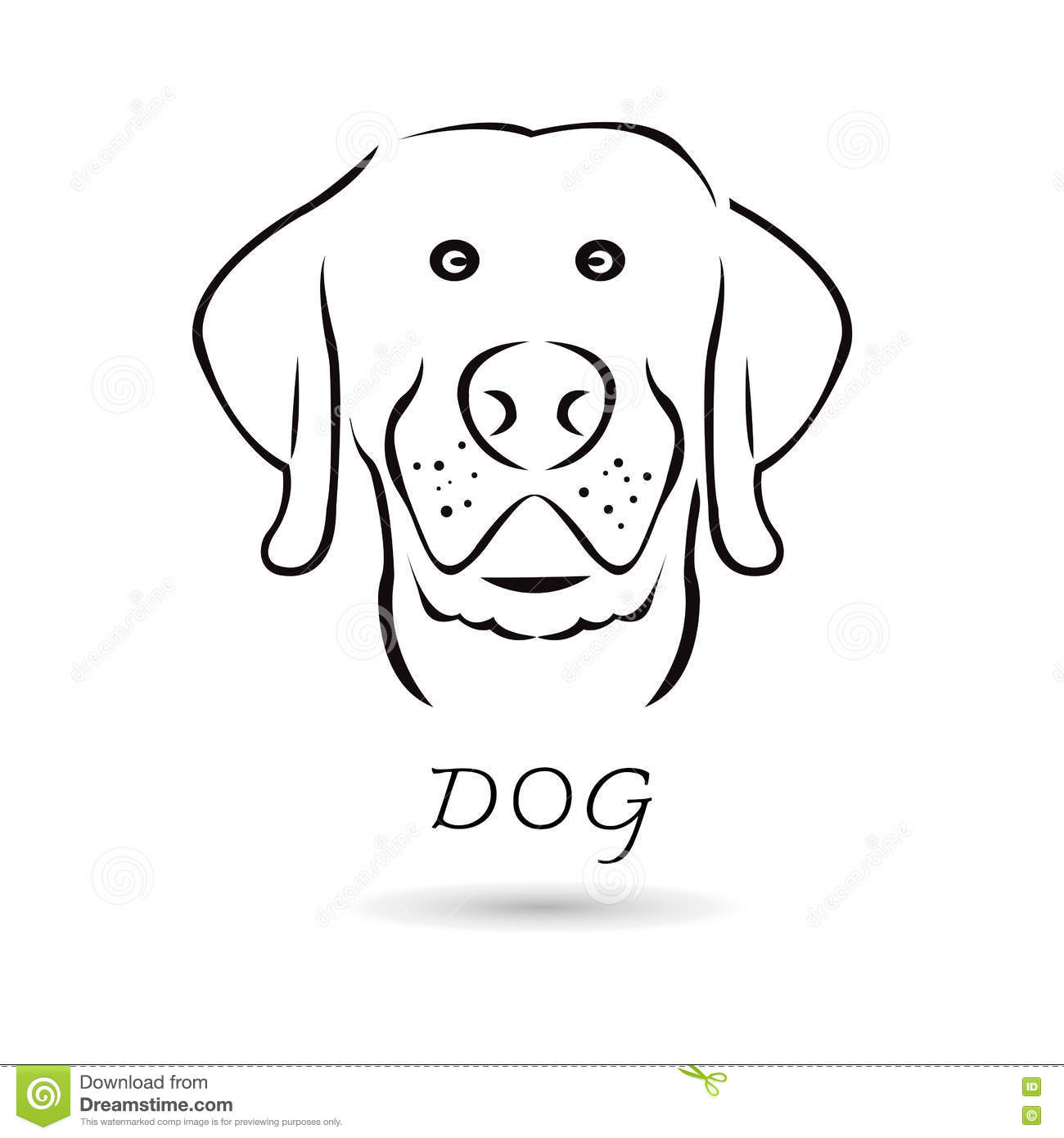 Stock Illustration Vector Dog Head Your Design White Background Set Image73046011 moreover Dibujos De Perritos Bebes Para Pintar also Cartoon Black And White Living Room also Floor plan in addition Wellness Coloring Books. on lab dog house plans