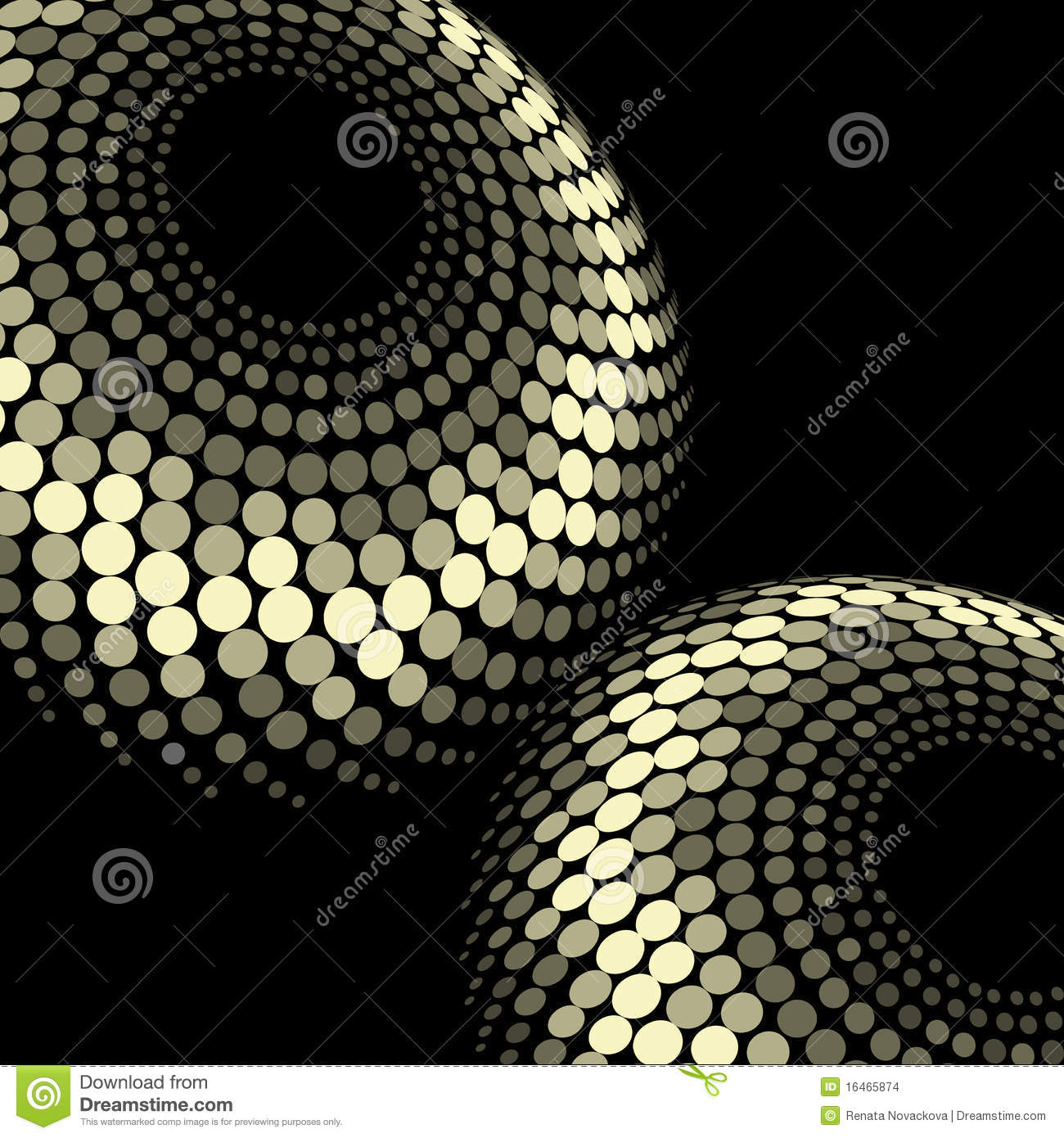 vector dotted shiny background