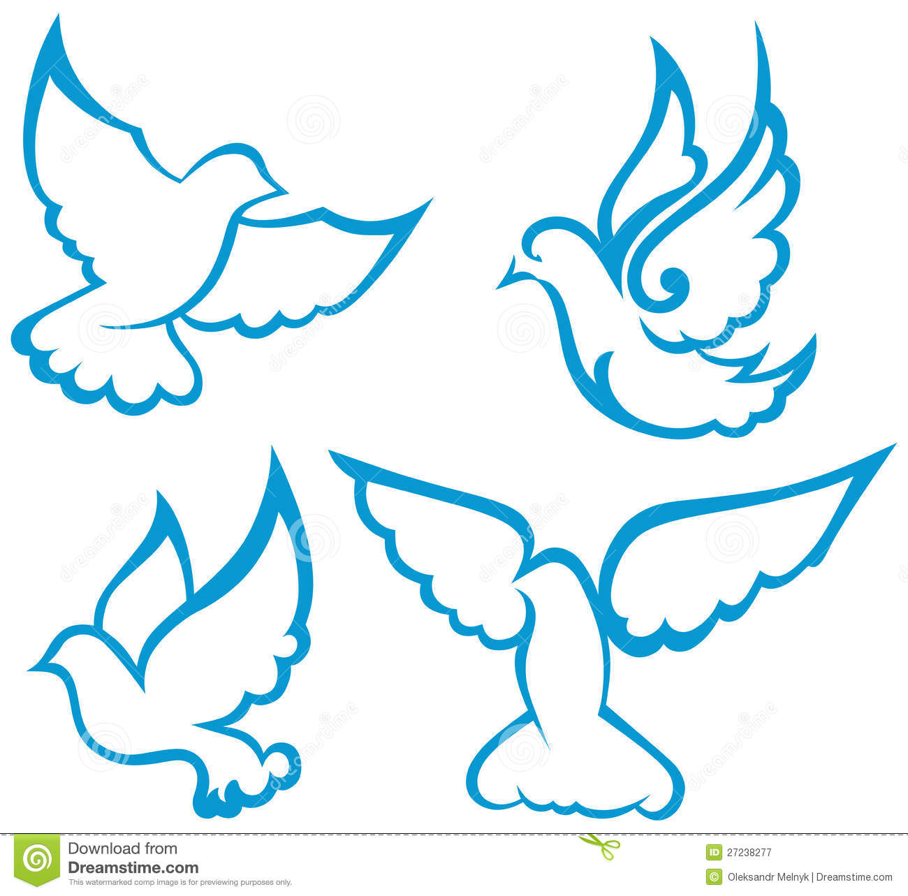 Vector dove symbol stock vector illustration of animal 27238277 vector dove symbol biocorpaavc