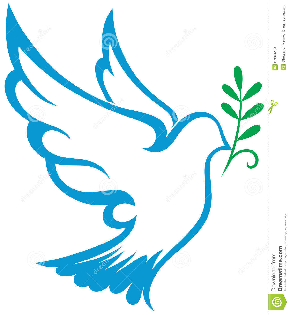 Vector Dove Symbol Royalty Free Stock Images - Image: 27238279
