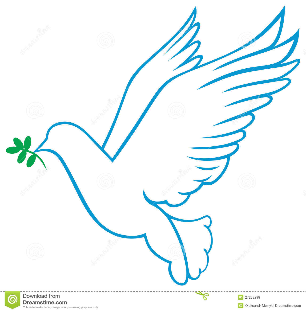 Vector Dove Symbol Royalty Free Stock Photos - Image: 27238298