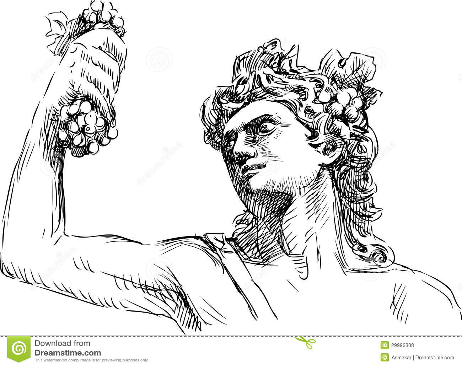 Dionysus stock vector illustration of mythical powerful 29996308 dionysus buycottarizona