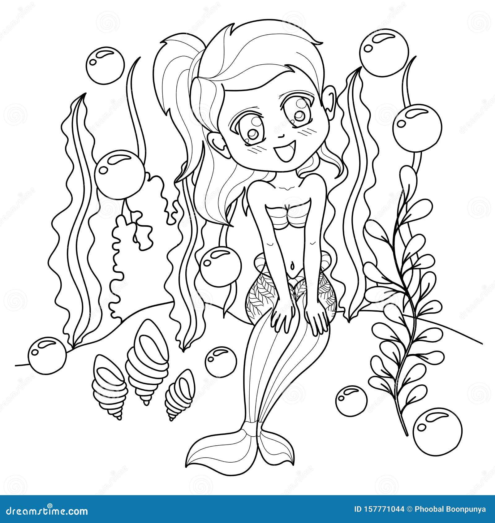 Tinkerbell As Ariel Mermaid Coloring Pages | Mermaid coloring ... | 1689x1600