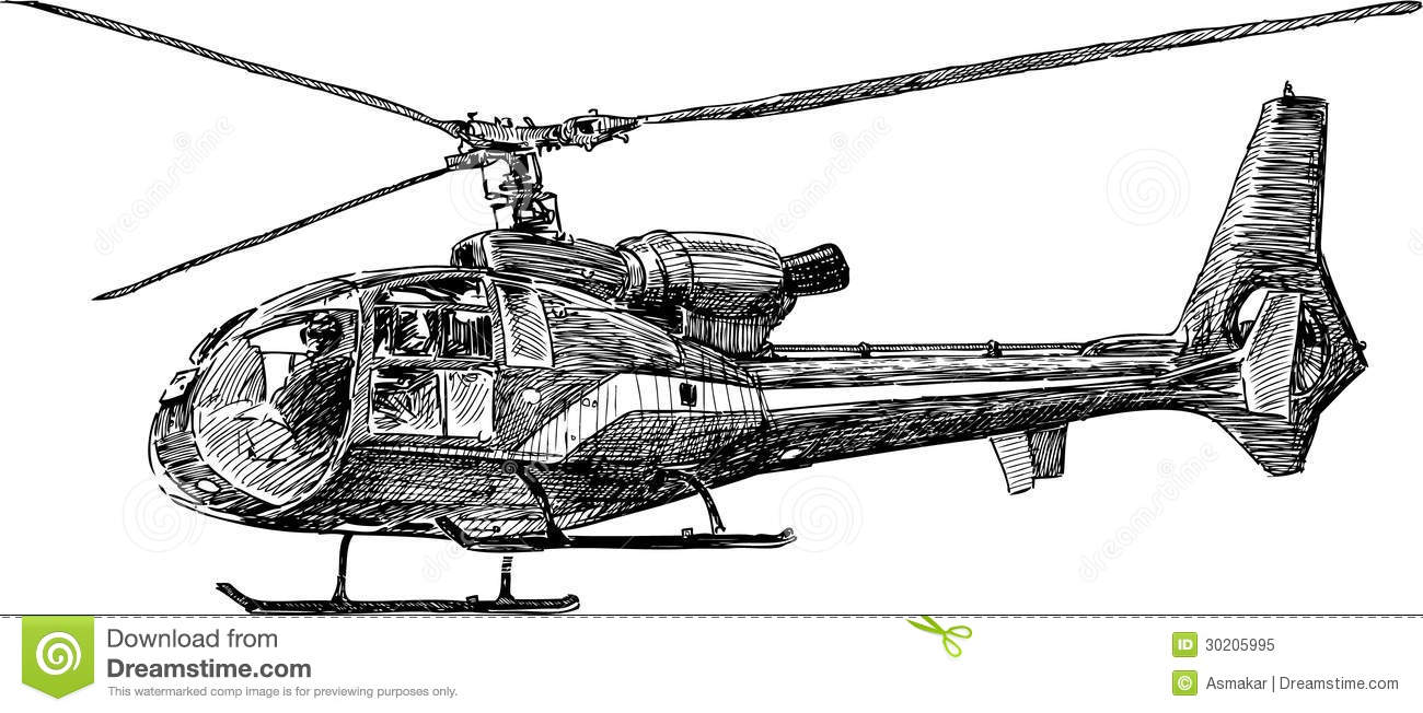Helicopter 2 Royalty Free Stock Photo - Image: 30205995