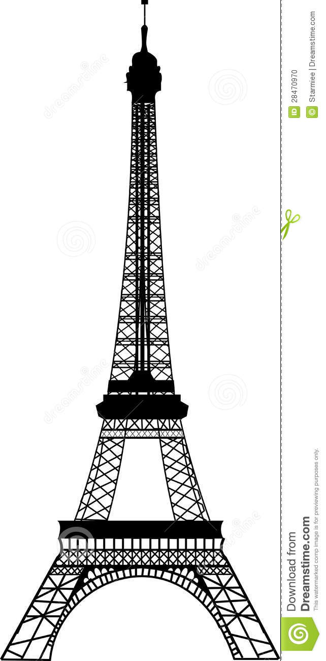 Vector eiffel tower stock vector illustration of french 28470970 vector eiffel tower thecheapjerseys Gallery