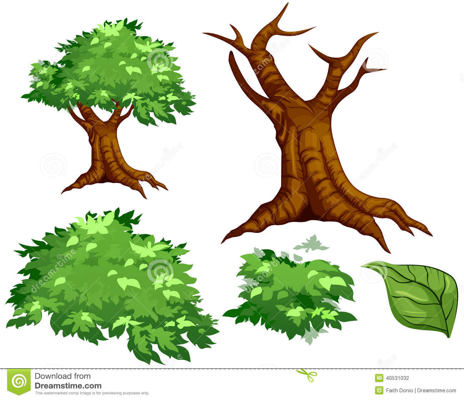 Vector el árbol