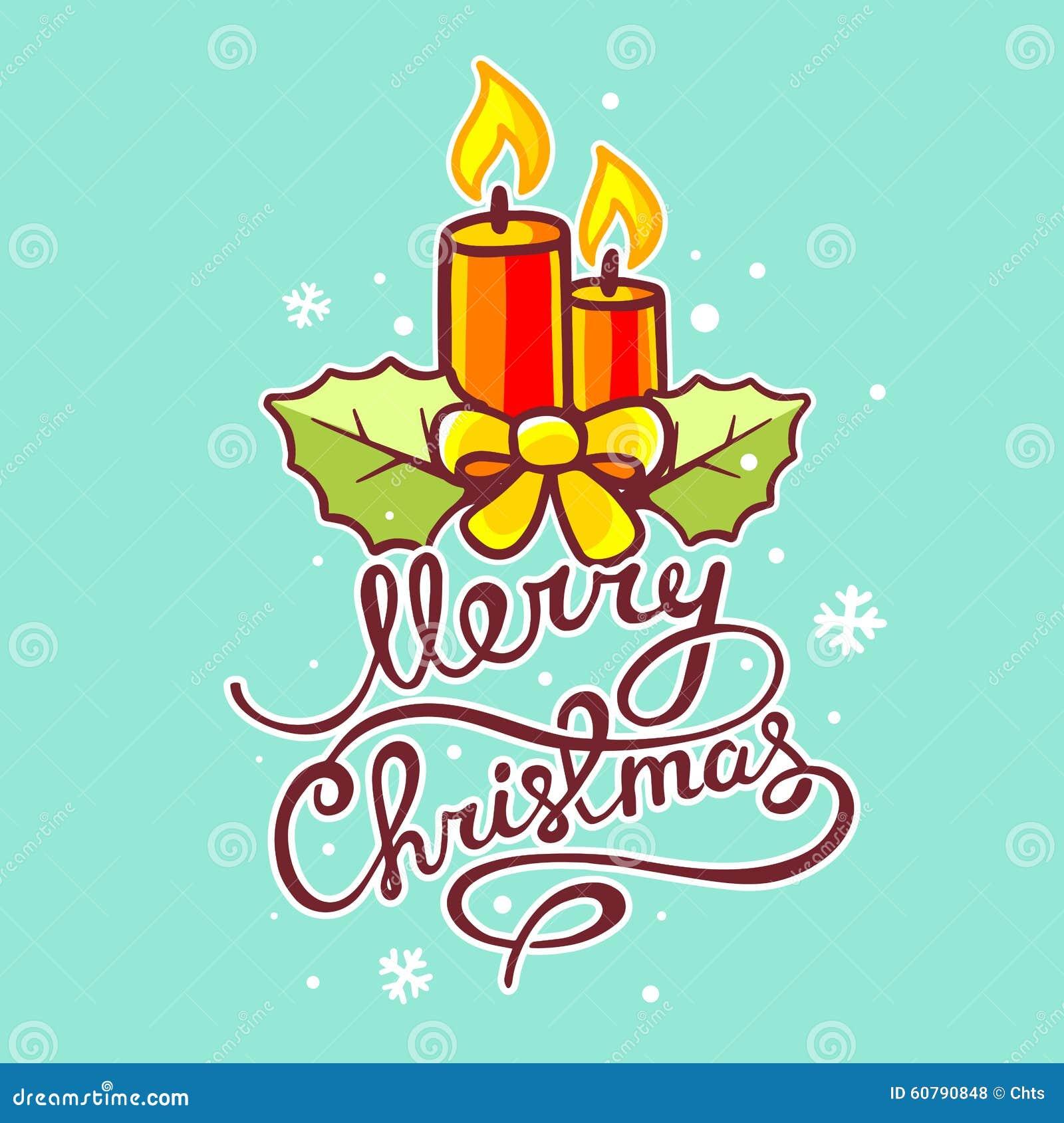 Vector el ejemplo de las velas rojas de la navidad y del for Fondos de escrito