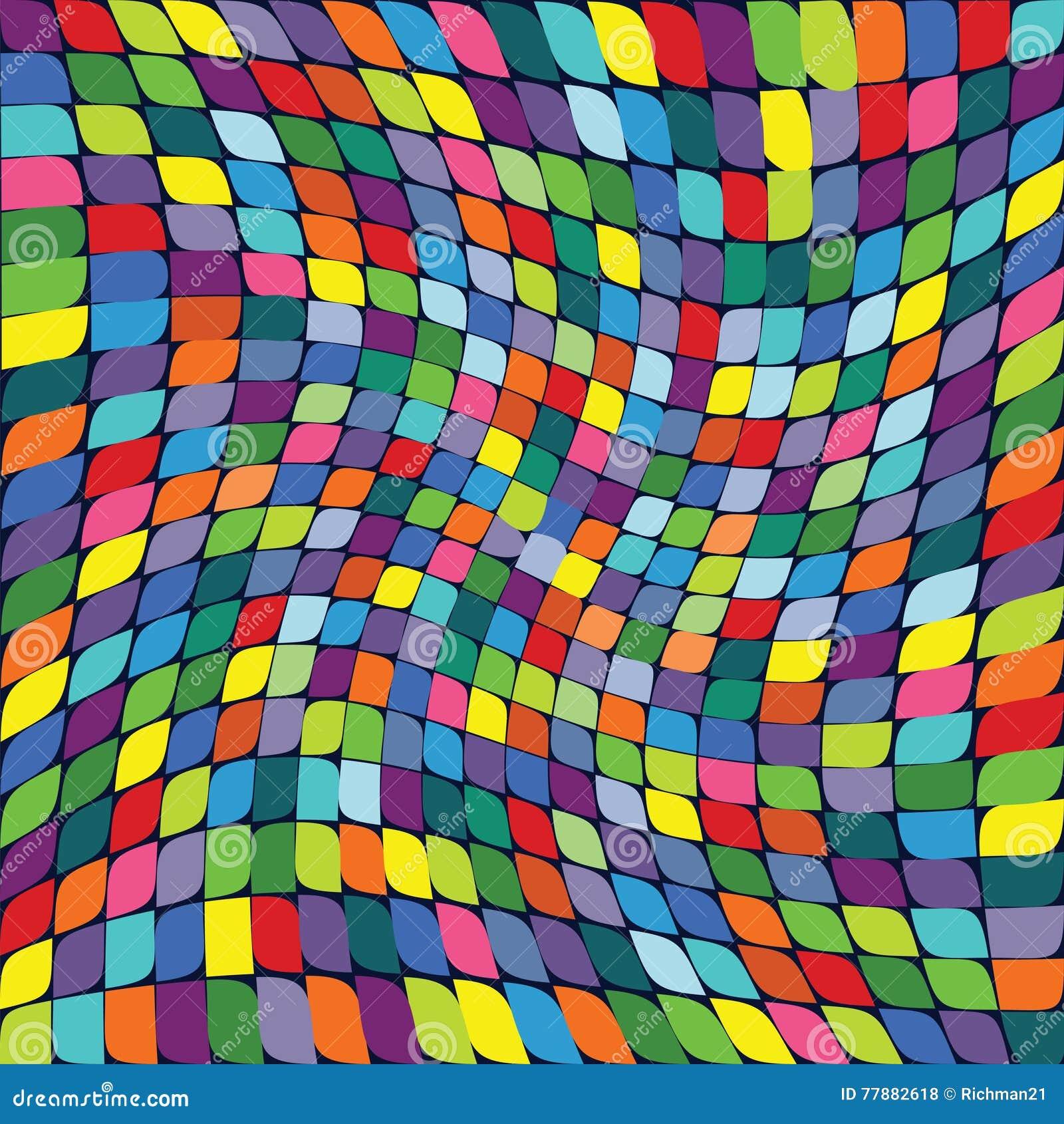 Vector El Ejemplo De Un Modelo De Repetición Inconsútil De S Coloreado Ilustración del Vector