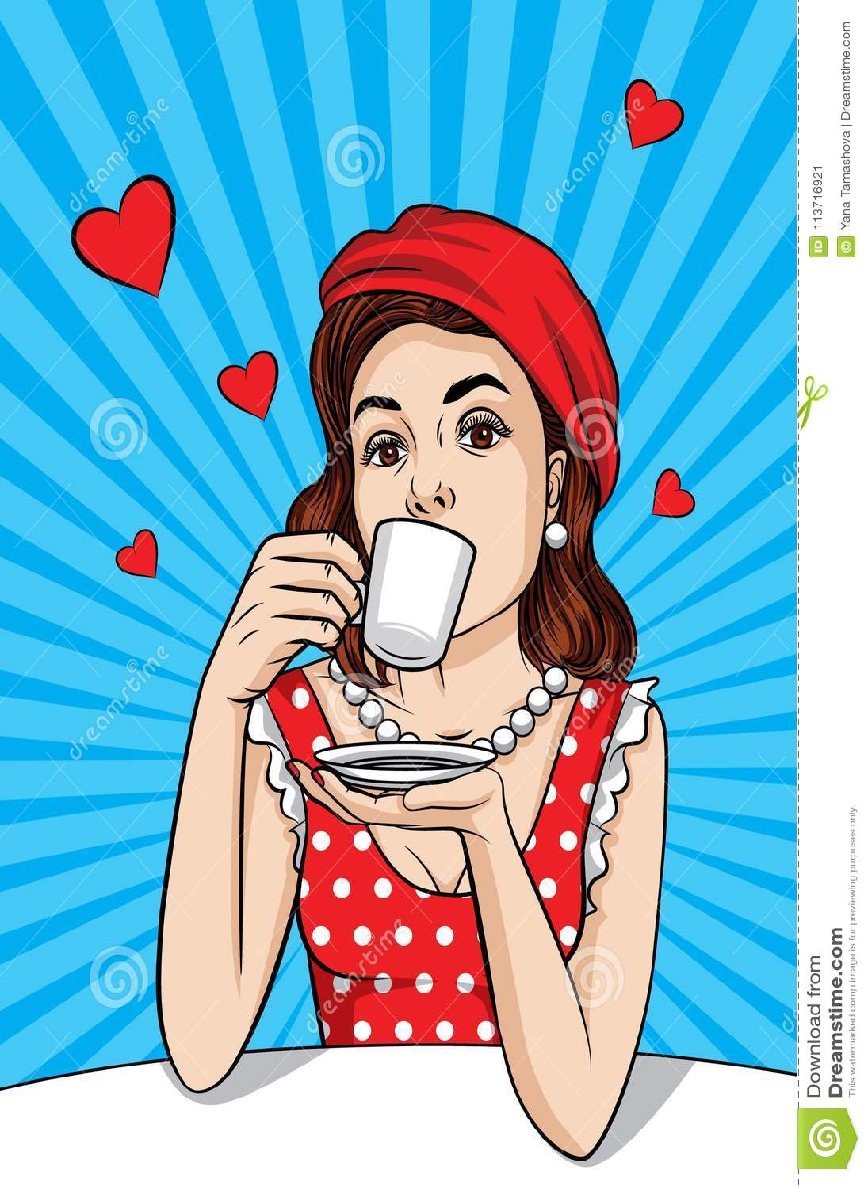 Mujer bonita vestido cafe