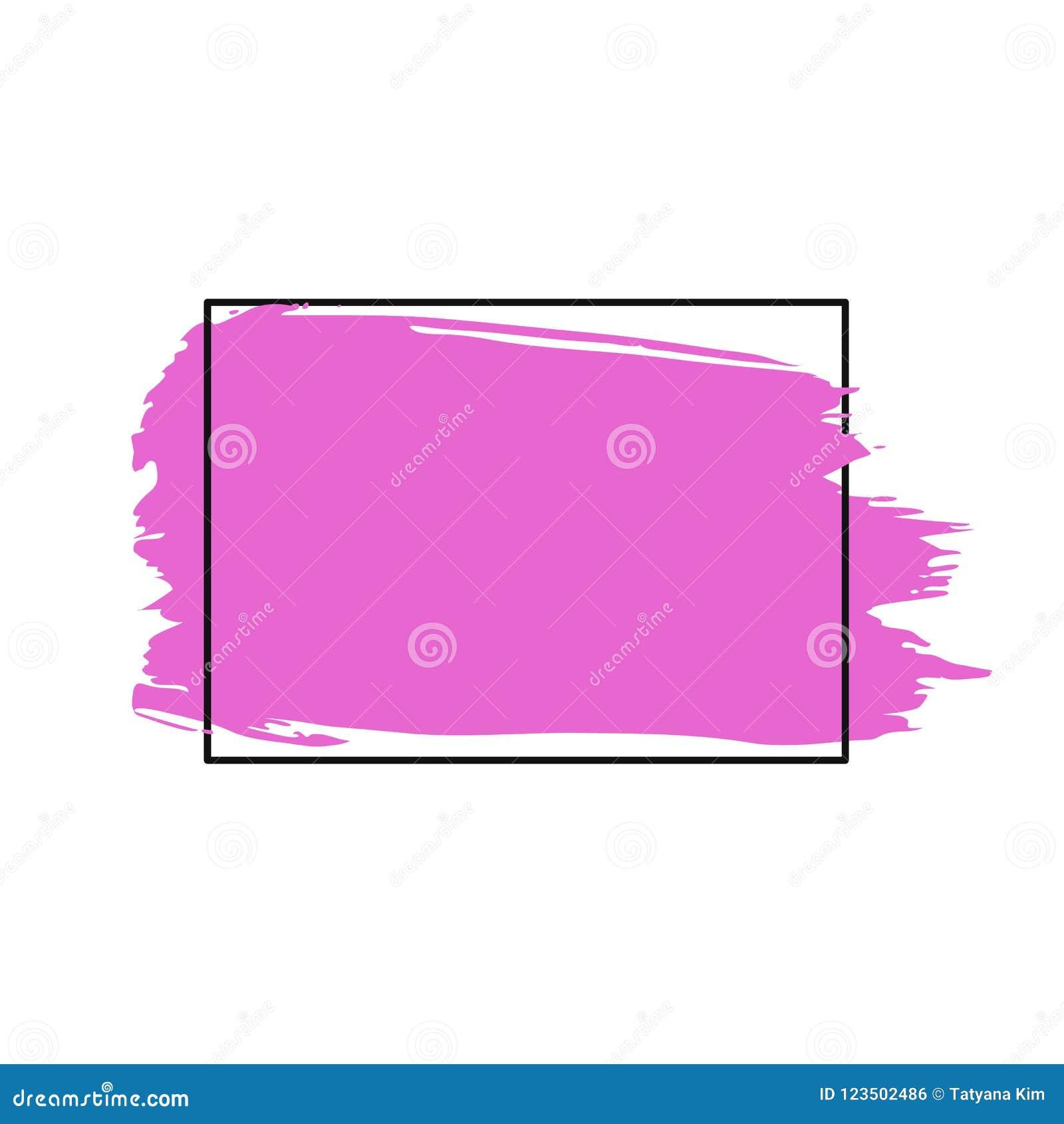 Vector el movimiento, el cepillo, la línea o la textura de la brocha Elemento, caja, marco o fondo artístico sucio del diseño par