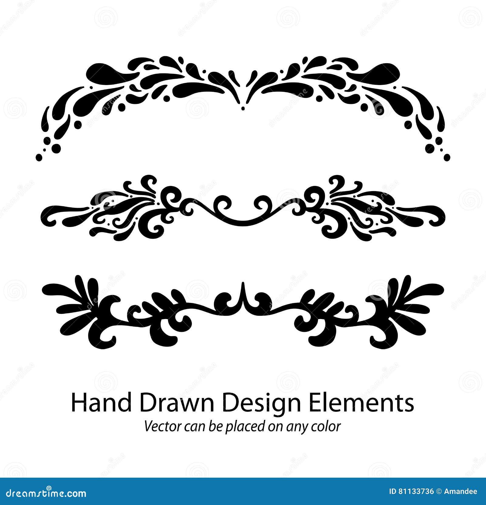 Fancy Lines 4 Vector Illustration Cartoondealer Com