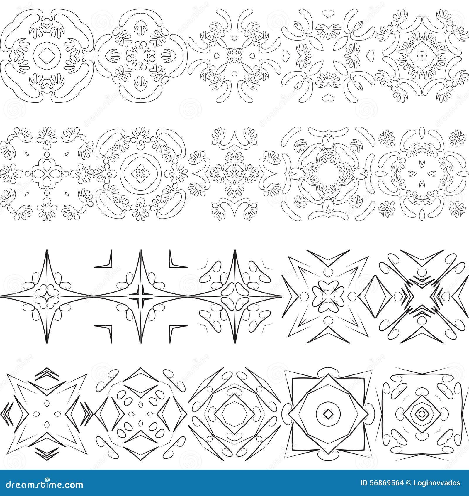 Vector Elements For Modern Design Stock Vector Image