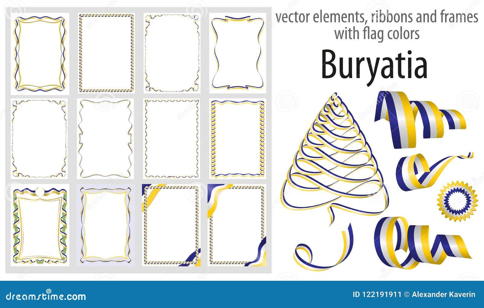 Contemporary Frame For Flag And Certificate Festooning - Framed Art ...