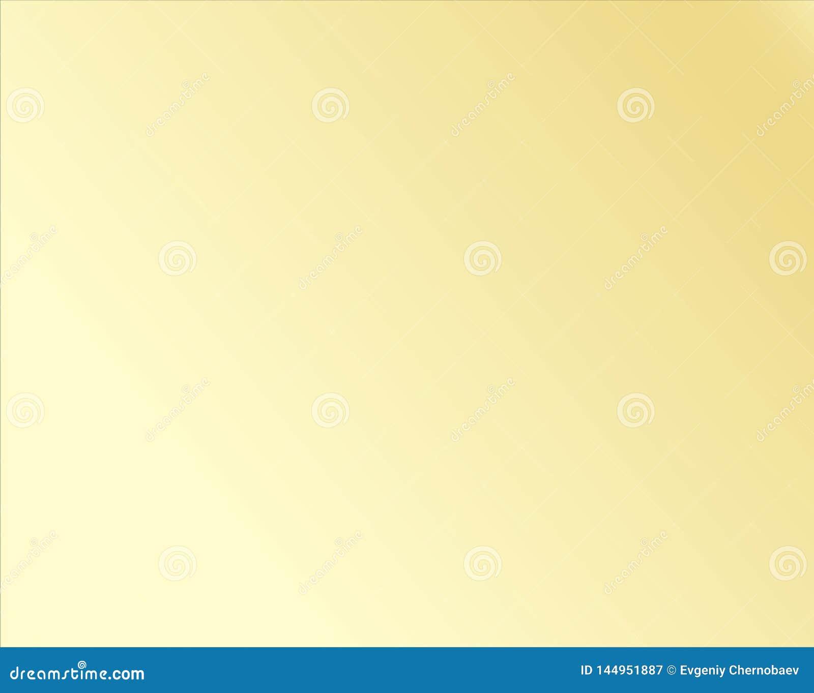 Vector eps10 del fondo del extracto de la pendiente del oro Pendiente del metal amarillo