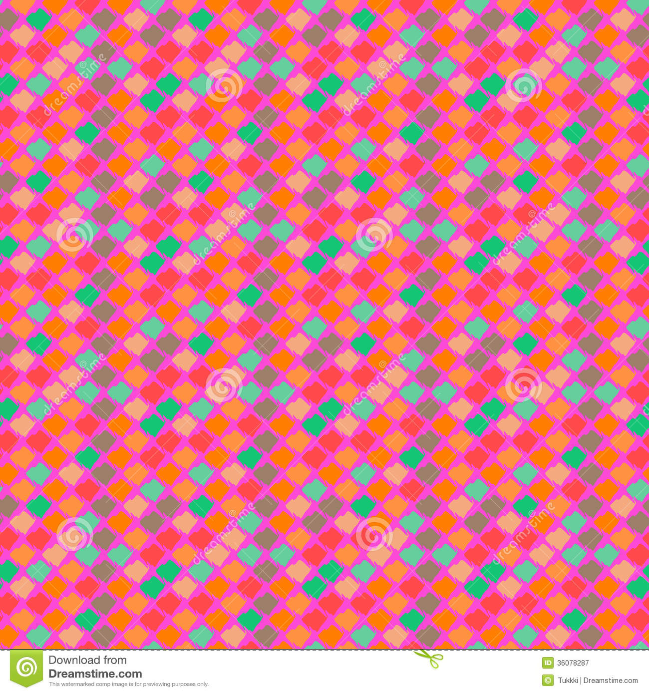 Vector Ethnic Pattern In Bright Colors Royalty Free Stock Photography Image 36078287