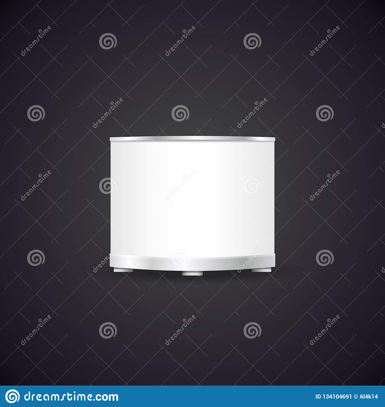 Exhibition Booth Mockup : Vector exhibition stand booth mockup stock vector illustration