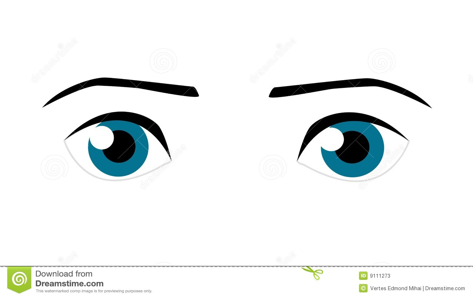 Vector Eye Stoc... Ojo White Knight Logo
