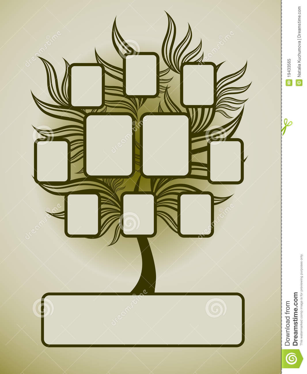 vector family tree design with family tree design ideas - Family Tree Design Ideas