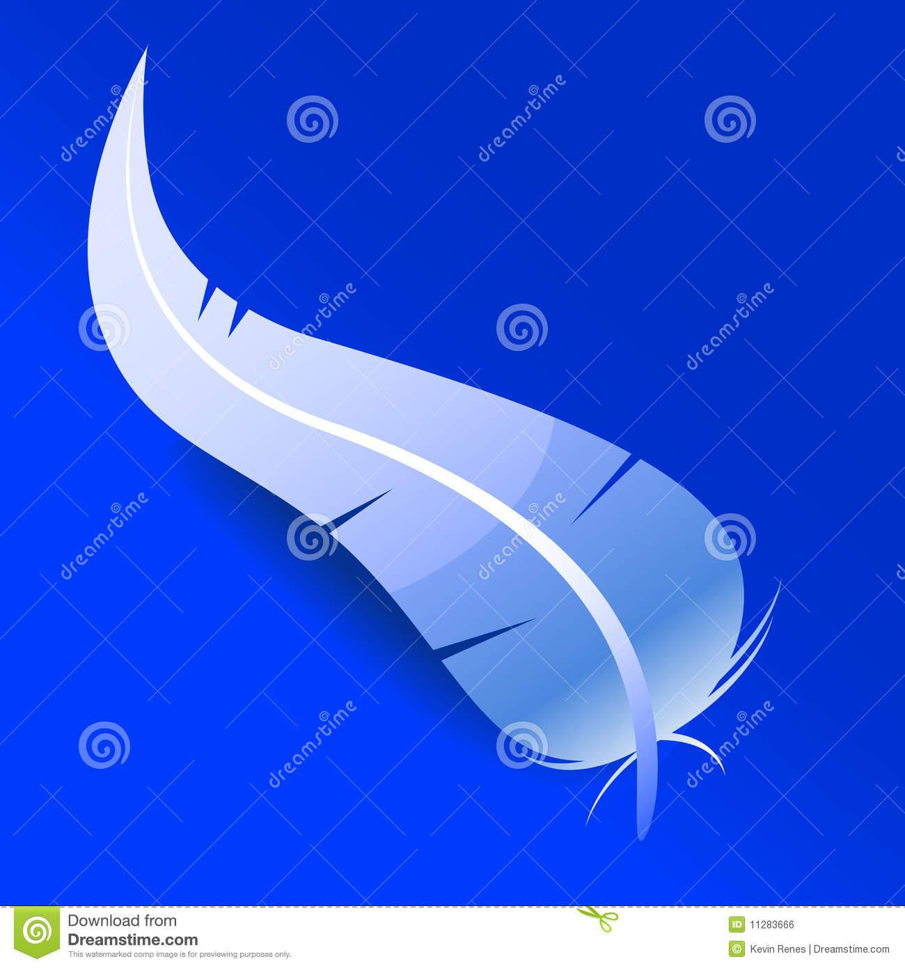 Vector Feather Royalty Free Stock Image - Image: 11283666
