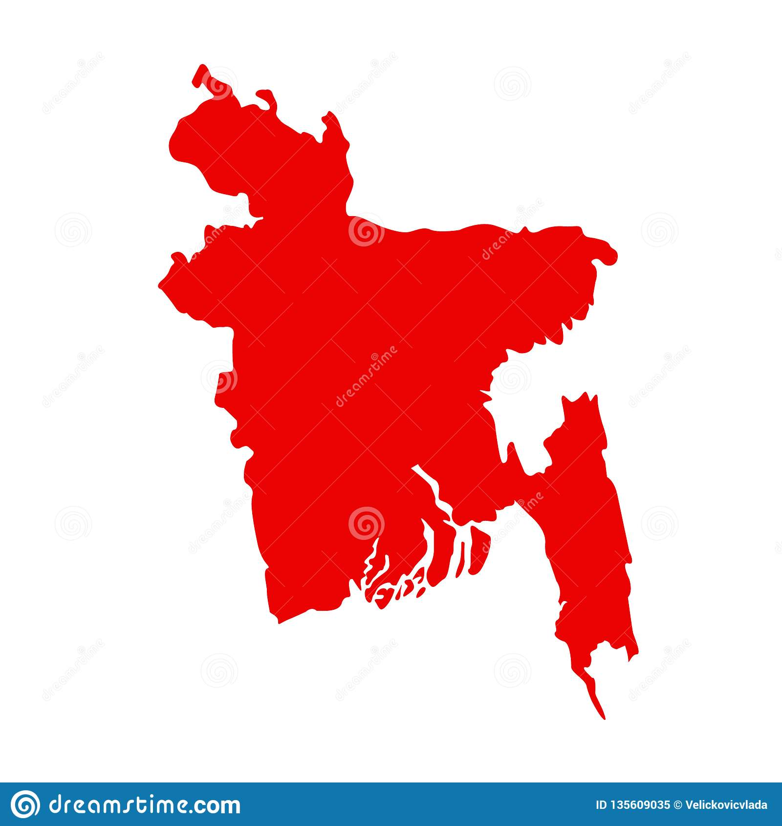Asia Map Bangladesh.Bangladesh Map Republic Of Bangladesh Is A Country In South Asia