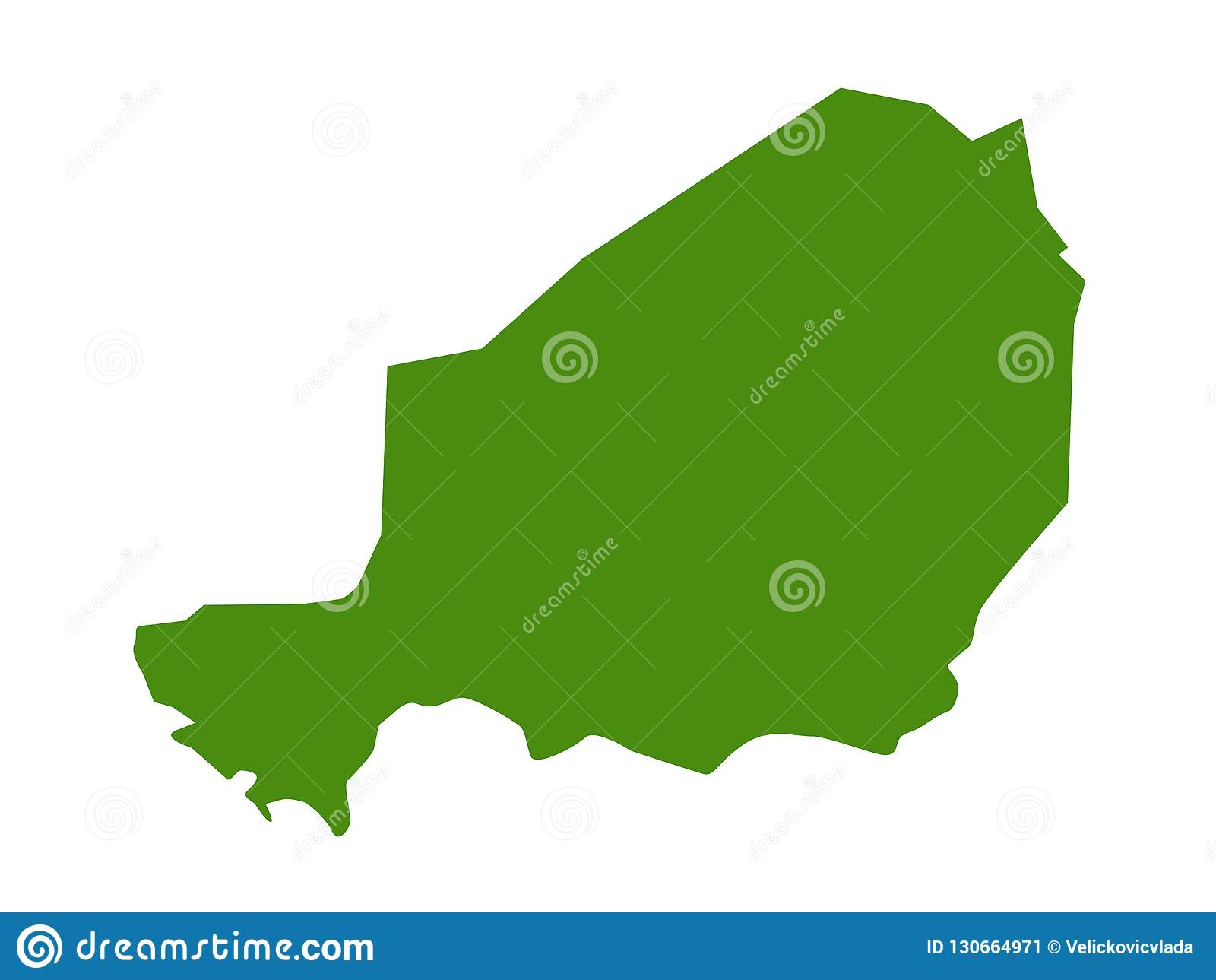 Niger Map - Country In West Africa Named After The Niger ...