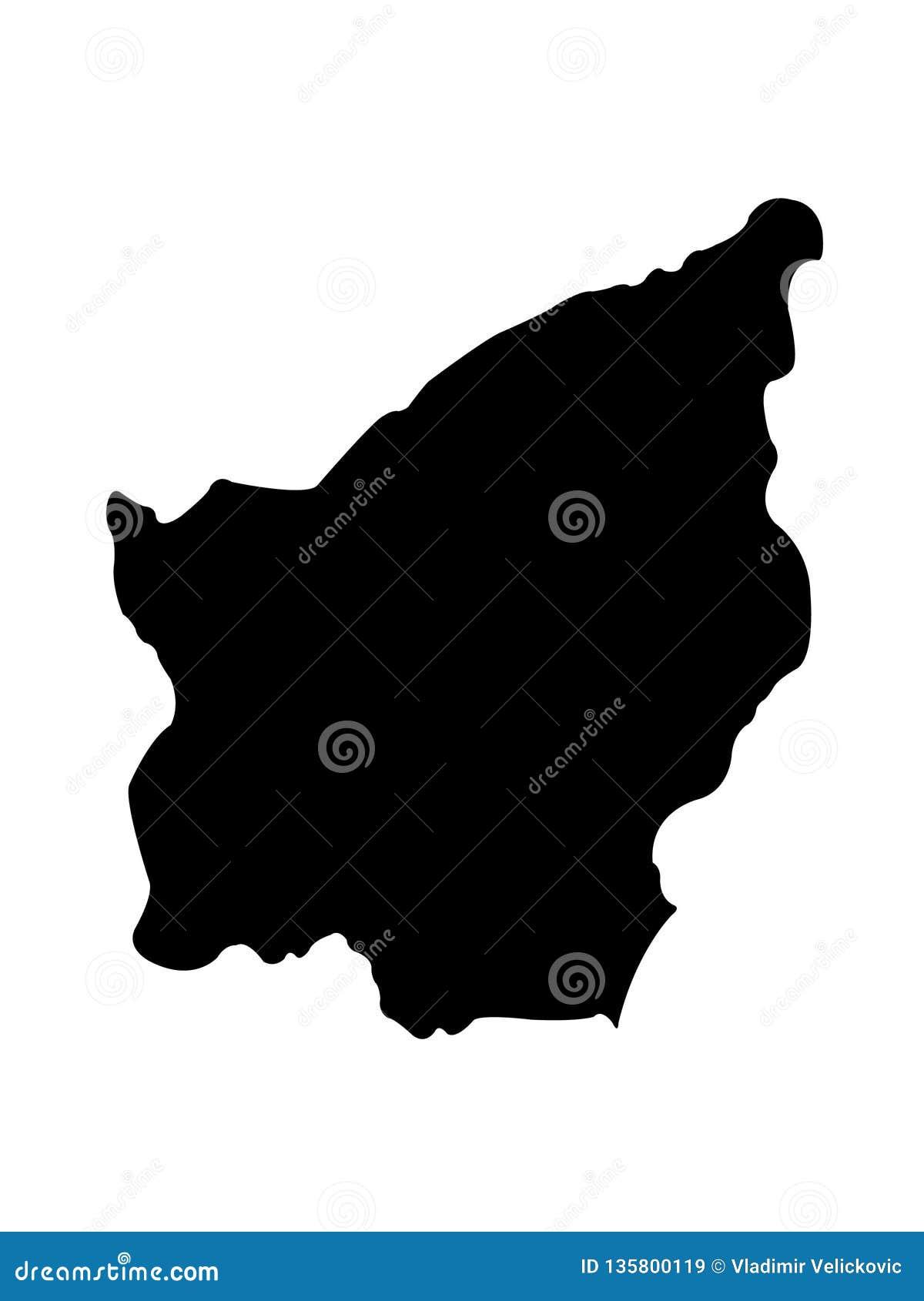 San Marino map - Republic of San Marino