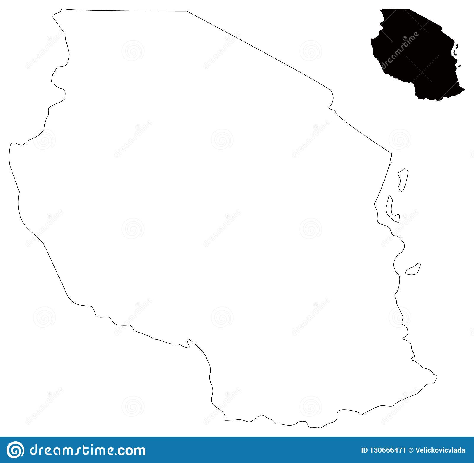 Lakes Of Africa Map.Tanzania Map Country In Eastern Africa Within The African Great