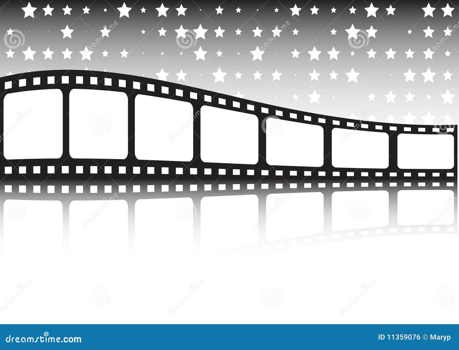Vector Film Roll Background Illustration 11359076 Megapixl