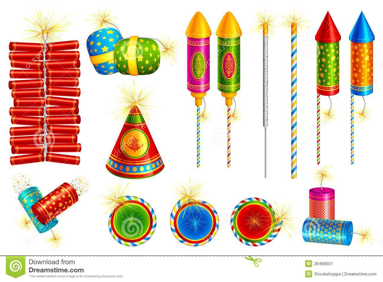 Displaying 18> Images For - Firecracker Vector...
