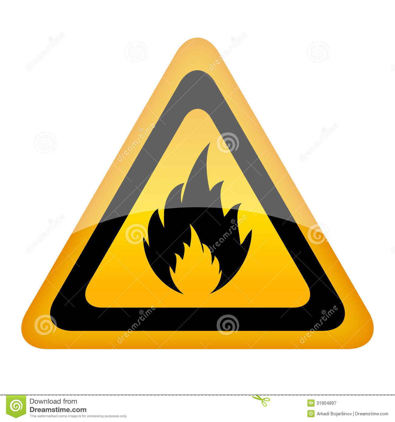 Vector Fire Sign Royalty Free Stock Photography - Image: 31904897 Under Construction Signs