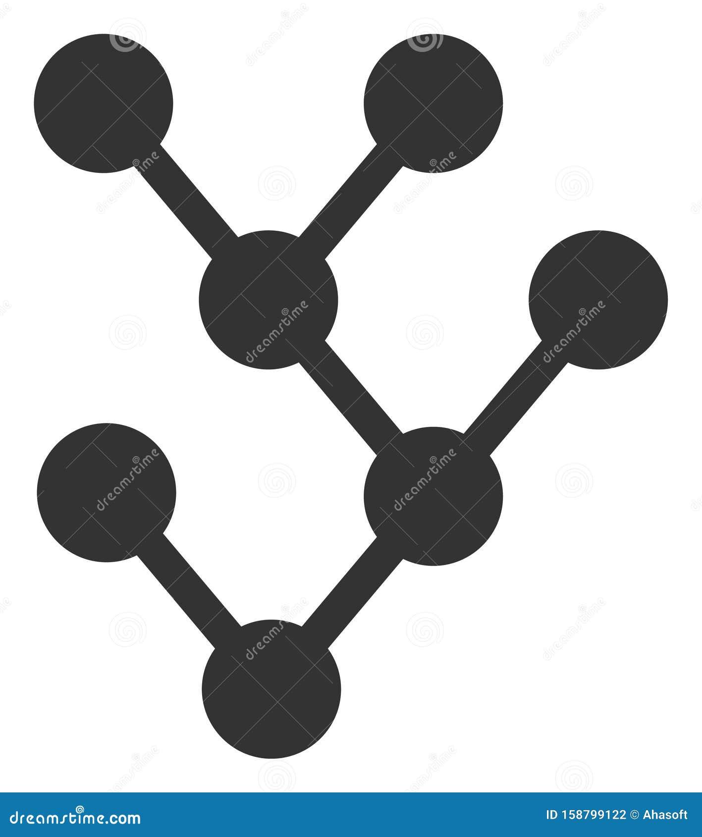 Vector Flat Binary Tree Icon