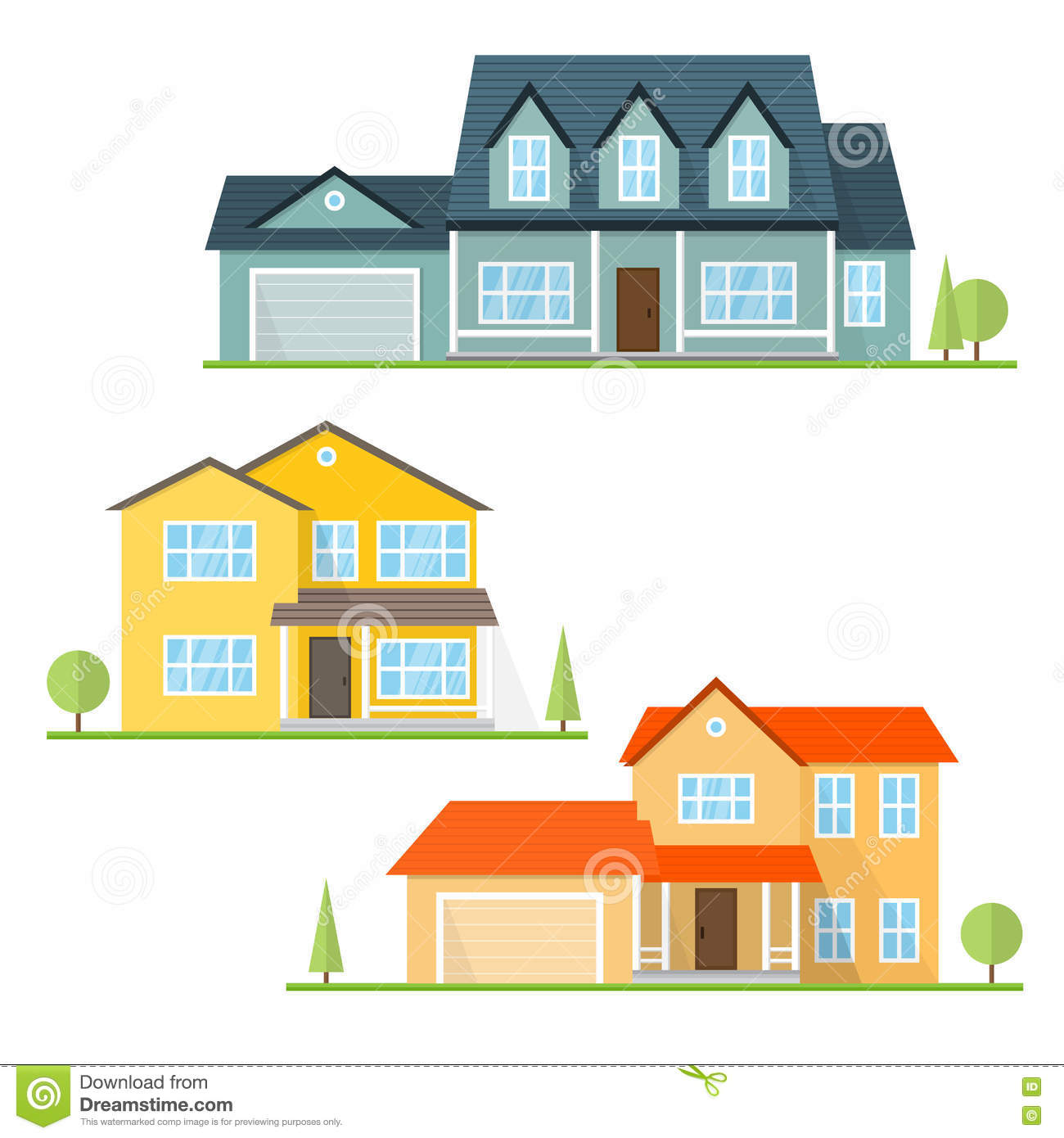 House design application - Royalty Free Vector