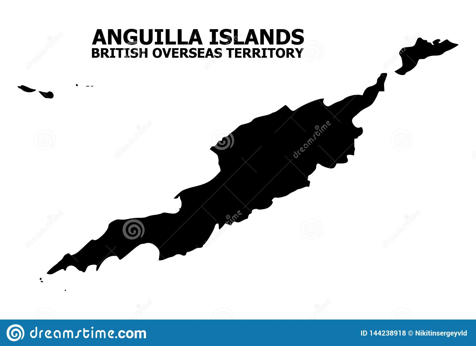 Vector Flat Map Of Anguilla Islands With Name Stock Vector ... on map of montserrat, map of st barts, map of martinique, map of caribbean, map of antigua, map of st maarten, map of jamaica, map of french southern territories, map of aruba, map of the bahamas, map of the south sandwich islands, map of dominica, map of guadeloupe, map of cuba, map of st martin, map of argentina, map of barbados, map of costa rica, map of nepal,