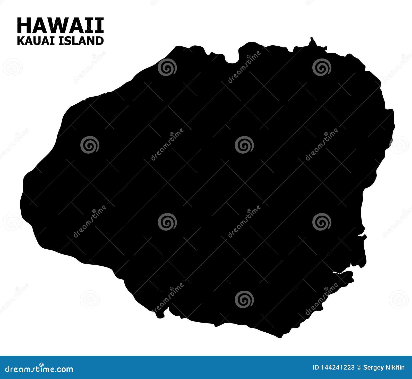 Kauai Map Stock Illustrations 223 Kauai Map Stock Illustrations Vectors Clipart Dreamstime