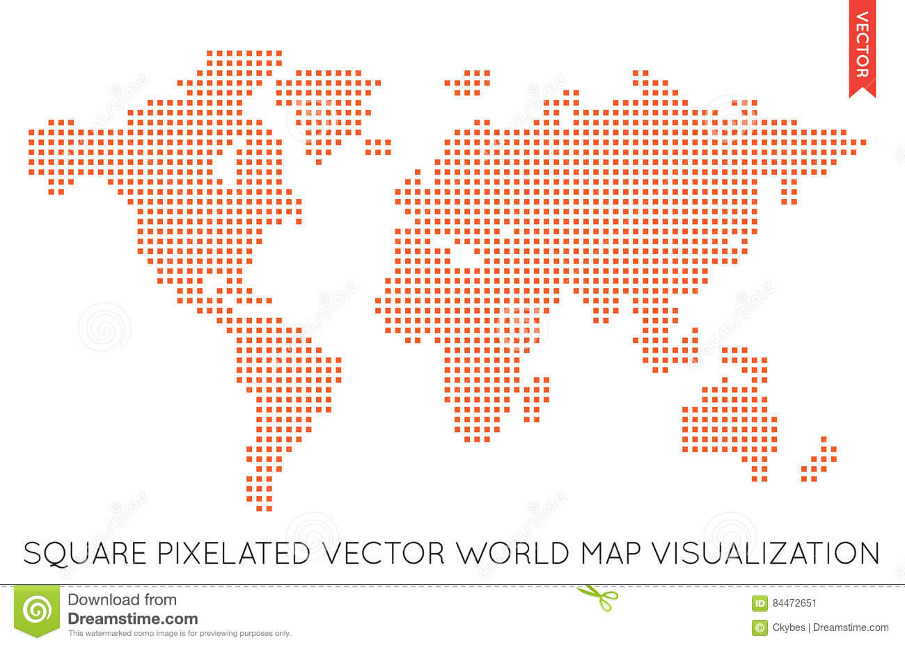 Vector flat world map infographic map of the world stock vector vector flat world map infographic map of the world rectangle america gumiabroncs Choice Image