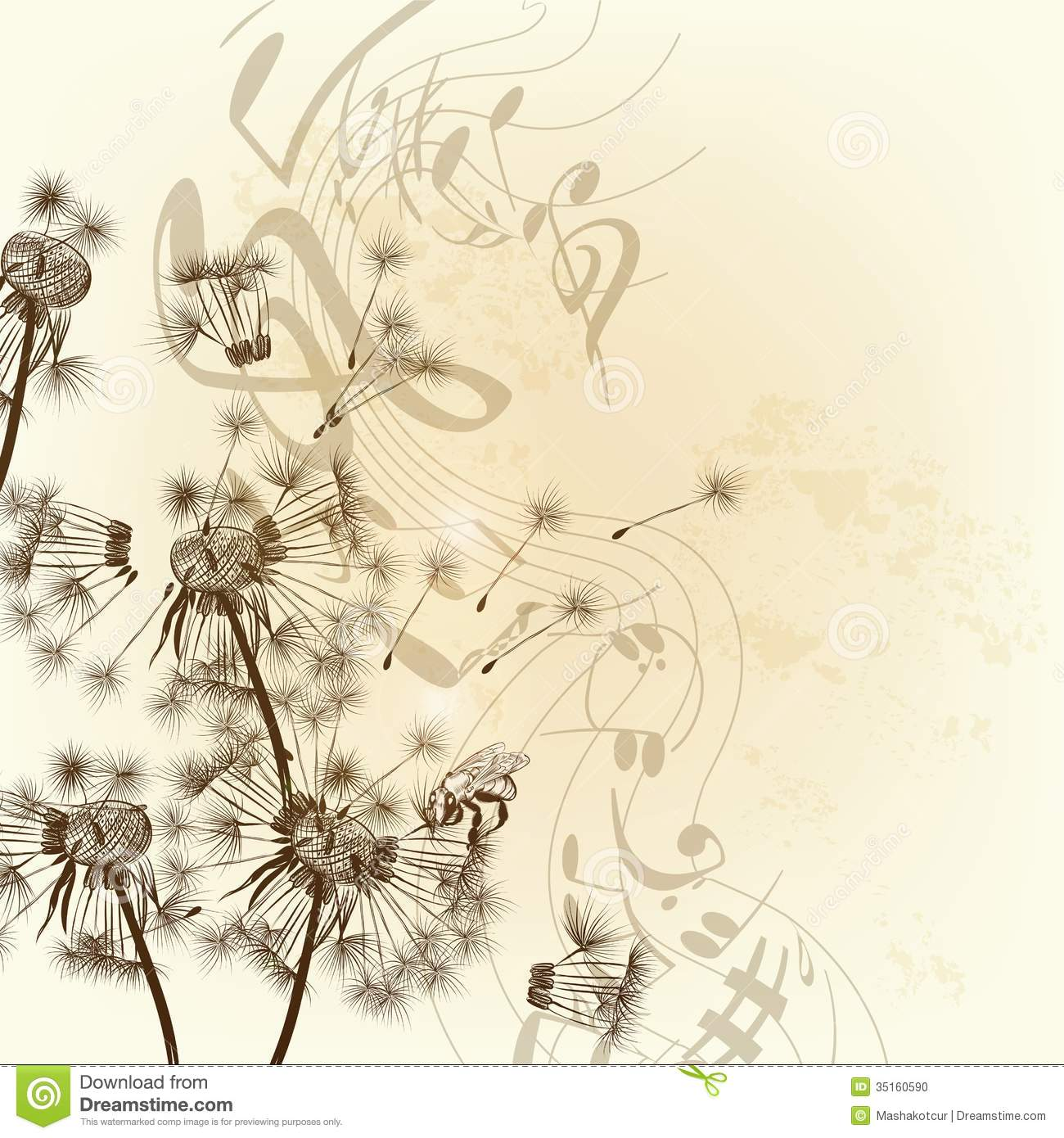 music notes backgrounds floral - photo #12