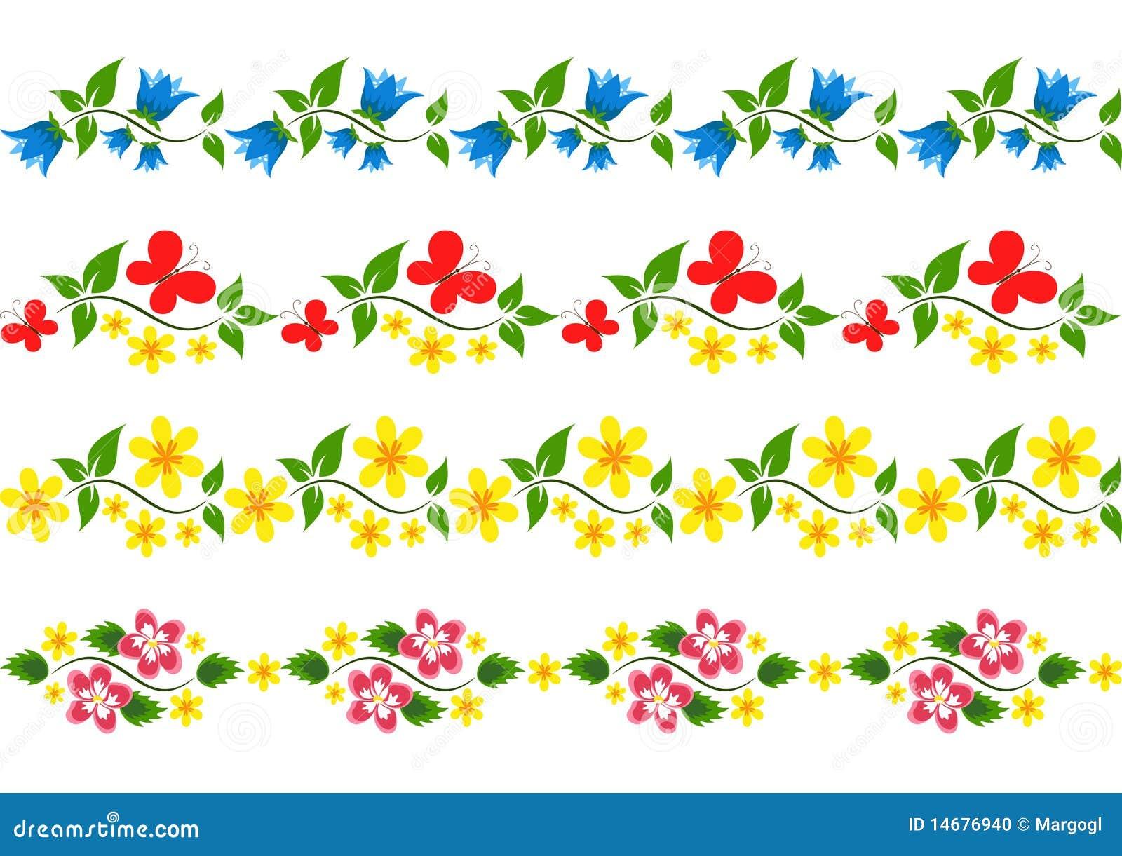 vector floral border set stock vector illustration of Medieval Filigree Vector Corner Filigree Vector