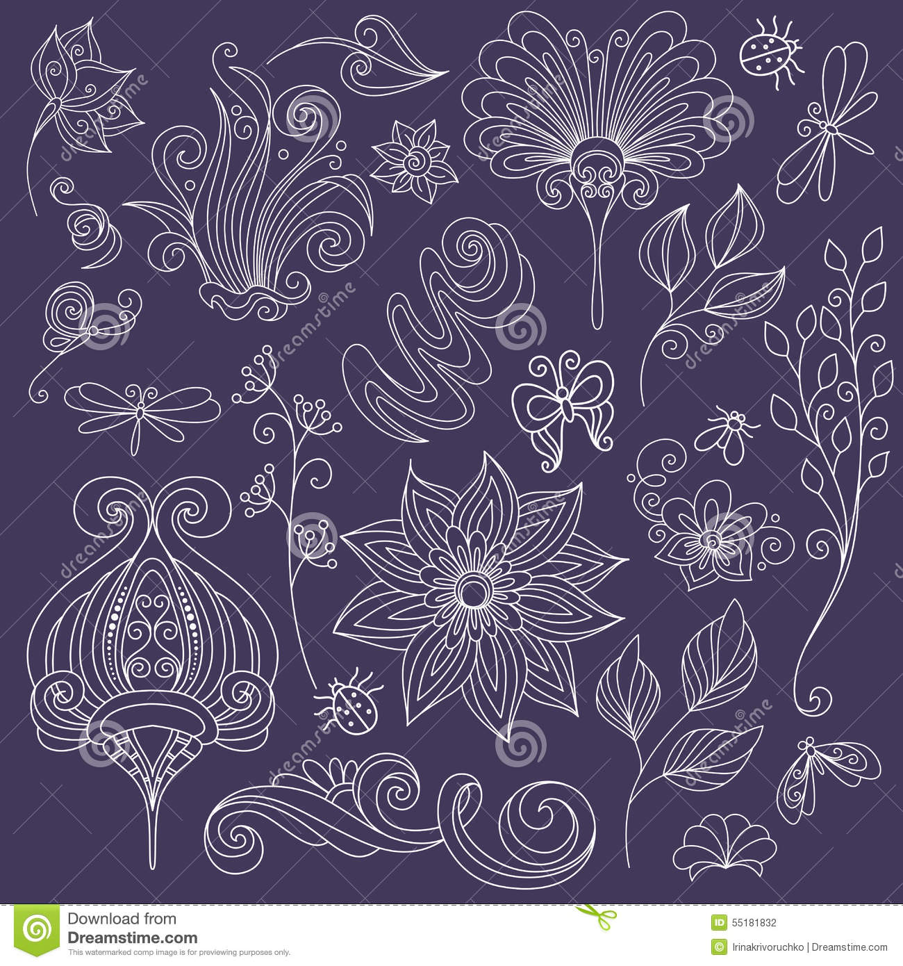 collection of floral design - photo #21