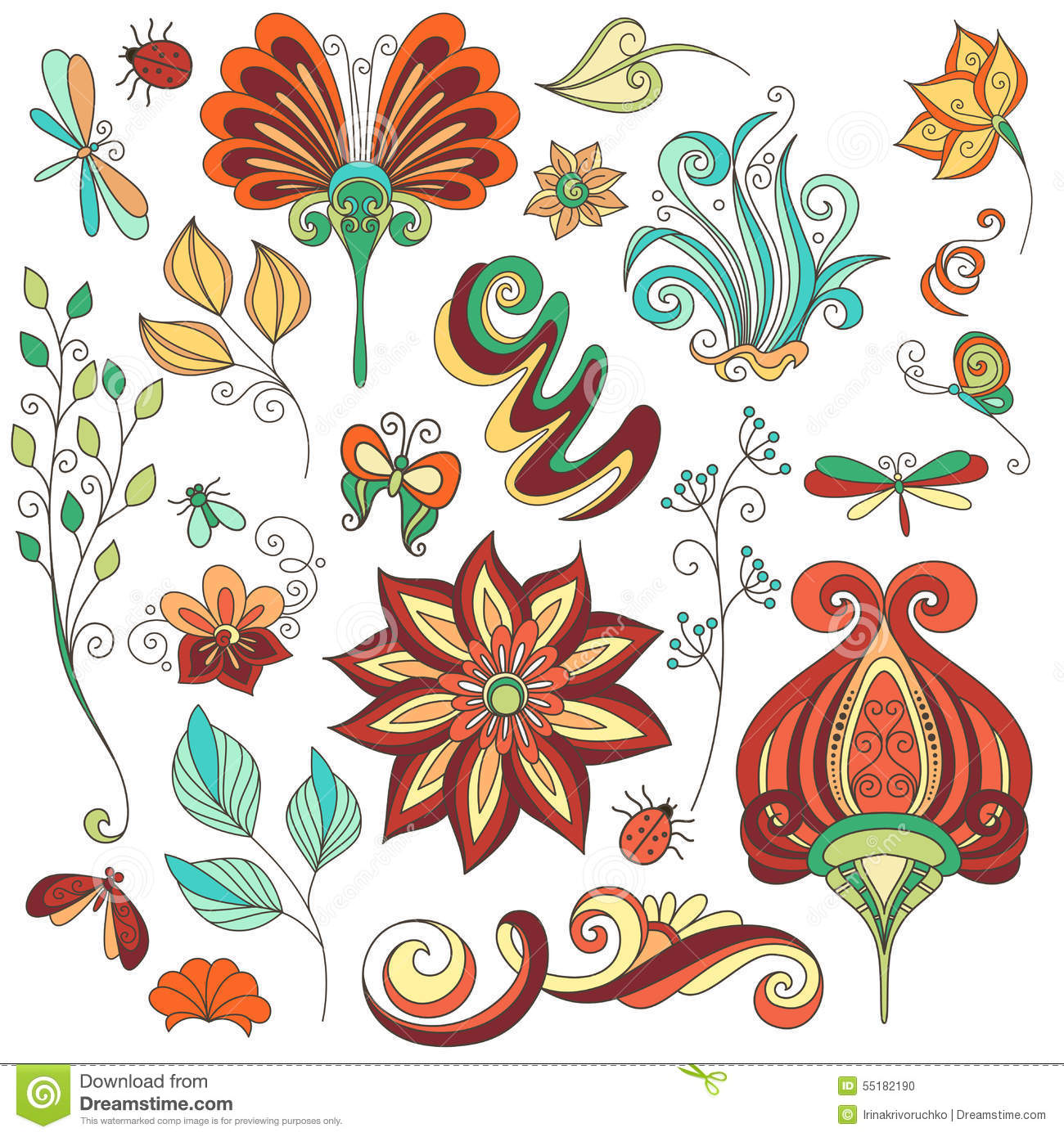 collection of floral design - photo #16
