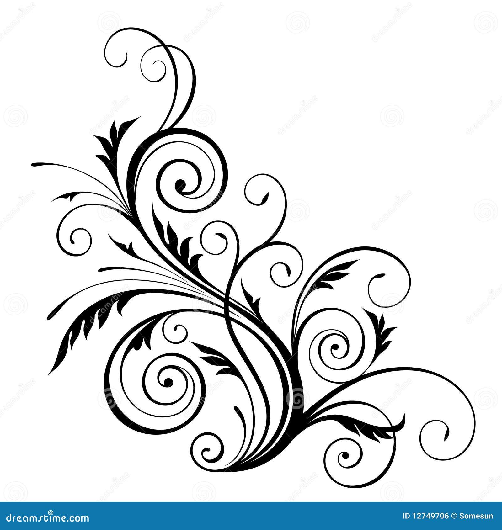 Flower Designs Patterns Png Vector Floral Design Element