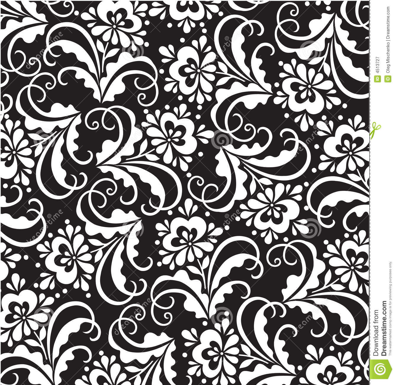 Vector floral patterns stock vector. Illustration of ...