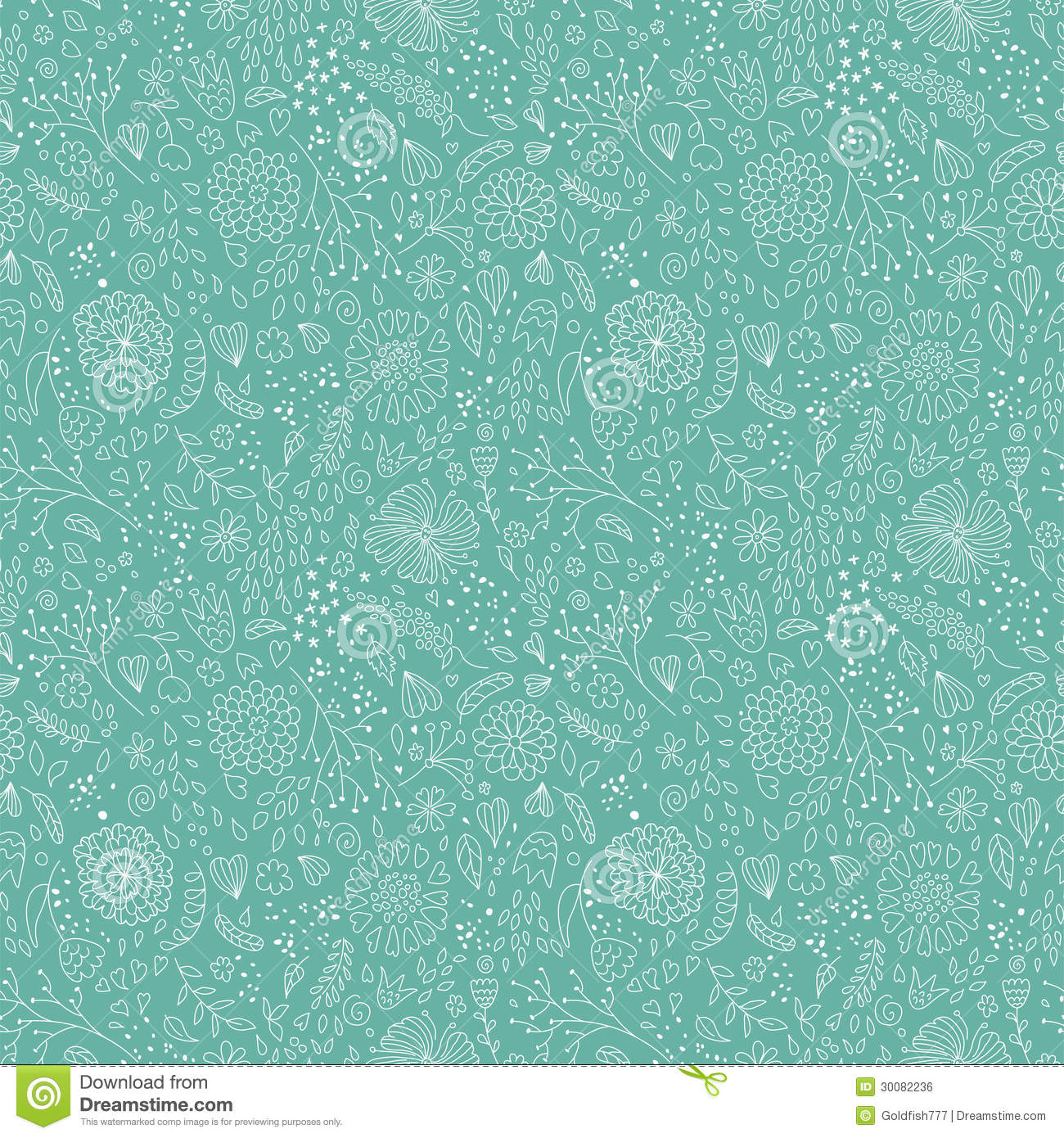 mint floral pattern royalty free stock image image 30082236
