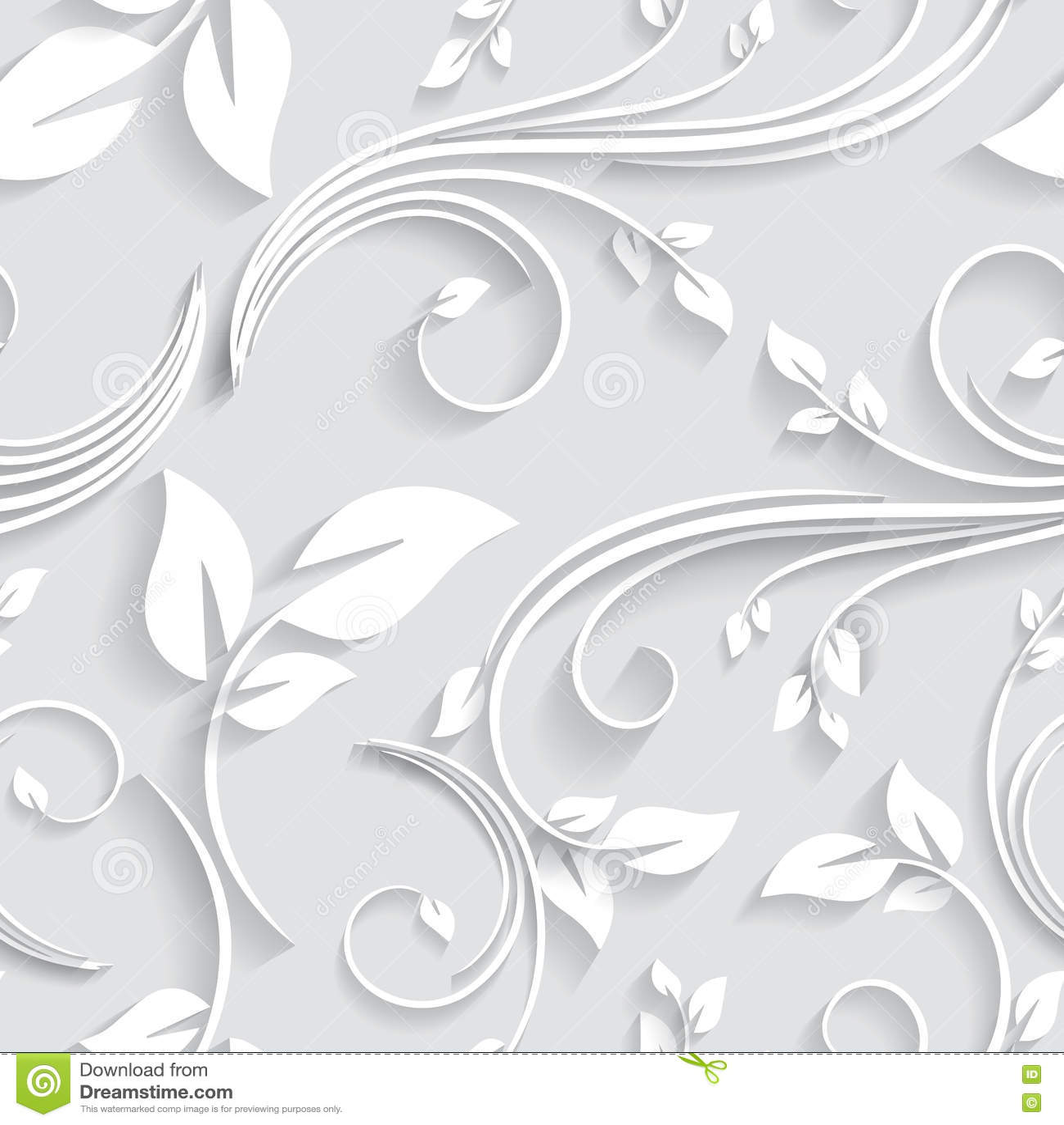Wedding Paper: Seamless Floral Wedding Card Background Cartoon Vector