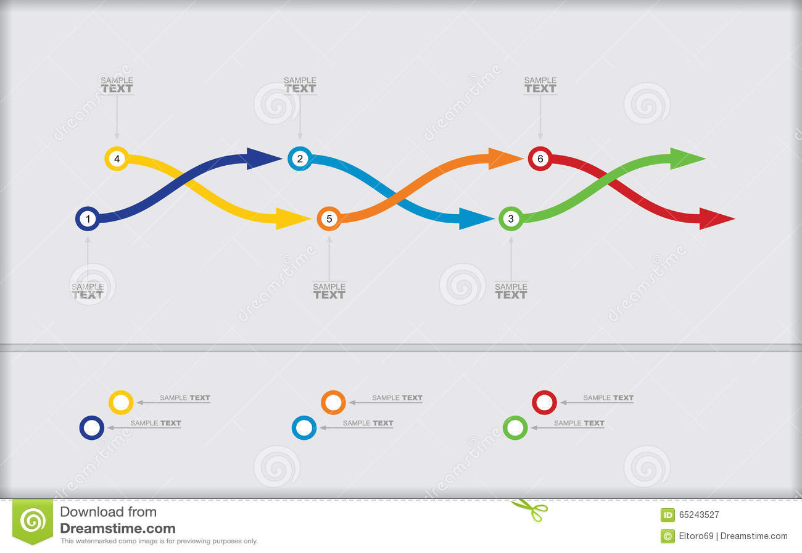 Vector flow chart template stock vector illustration of colors vector flow chart template colors information geenschuldenfo Image collections