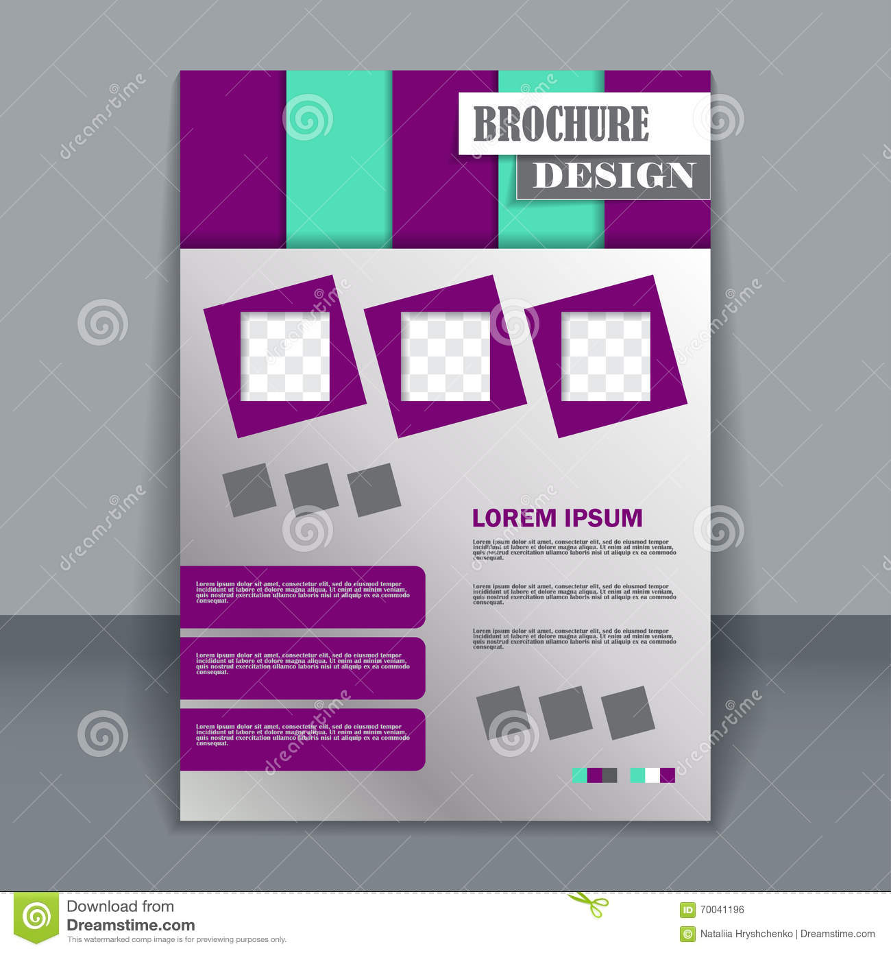 template for making a flyer