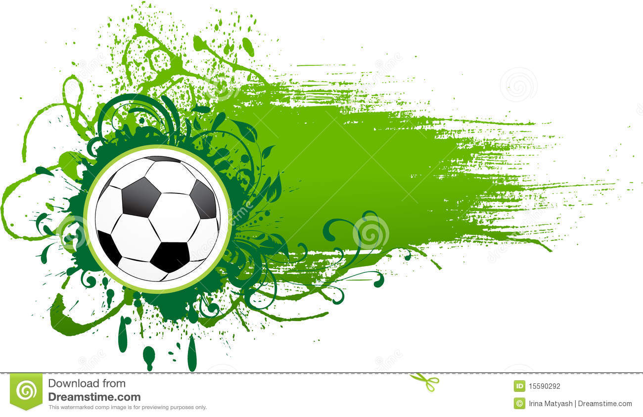 vector football banner  stock photography